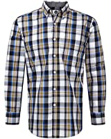 Charles Wilson Check Cotton Casual Shirt