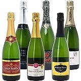 本格シャンパン製法の極上の泡6本セットW0GX60SE750mlx6本ワインセット