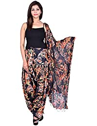 Fashion Store Women Cotton Printed And Plian Multi-Coloured Patiala Salwar With Dupatta Combo Of Assorted Color... - B0716LQ6ZS