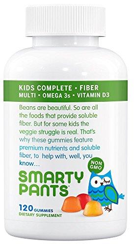 SmartyPants Kids Complete and Fiber Gummy Vitamins