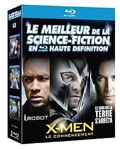 Le Meilleur de la science-fiction en haute définition : I, Robot + Le jour où la terre s'arrêta + X-Men : Le commencement [ 3 Blu-ray]