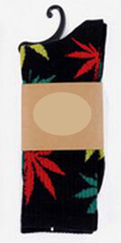 YUTIA Leaf Warm Cotton High Sport Socks