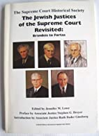 The Jewish Justices of the Supreme Court…