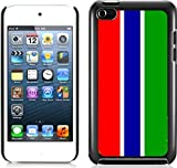 Congo's flag Hard Plastic and Aluminum Back Case FOR Apple ipod touch 4 4G 4TH