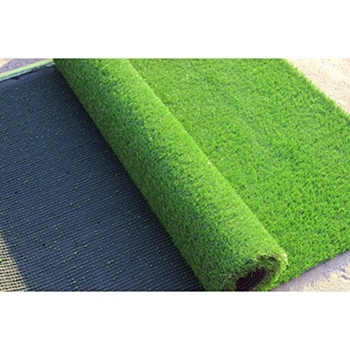 4' x 10' Premium Synthetic Turf Artificial Grass Lawn Rubber Backed with Drainage Holes