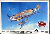 Hasegawa 1/32 Messerschmitt BF109F-4 TROP w/ Hans-Joachim Marseille Figure