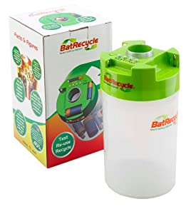BatRecycle - Battery Recycling Bin with built in tester