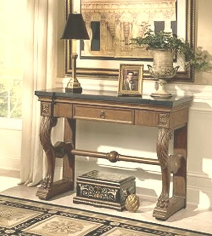 Cheap Heritage Stone Top Console Table (B001EPDR1Y)