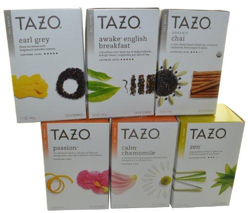 Caffeine in tazo awake tea