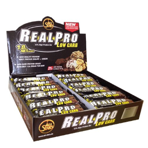 All Stars Realpro Low carb Riegel 24 x 50g Mix-Box