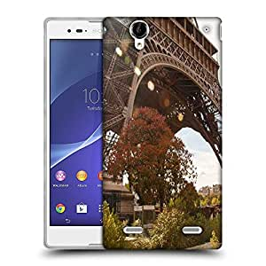 Snoogg Eifiel Towar Designer Protective Phone Back Case Cover For Sony Xperia T2 Ultra
