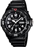 Casio #MRW200H-1BV Men's Easy Reader 100M Sports Analog Watch