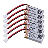 6 PCS Morpilot® 3.7V 400mAh 25C LiPO Battery for Hubsan X4 (H107, H107C, H107D, H107L, V252,JXD385,F180C) 4 Channel 2.4GHz RC QuadCopter