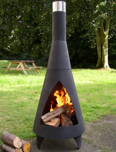 La Hacienda: Colorado Medium Steel Chiminea FG