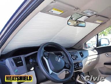 Sunshade for HONDA CIVIC SEDAN HYBRID SI SEDAN 2012 2013 Autoheatshield Windshield Custom-fit Sunshade