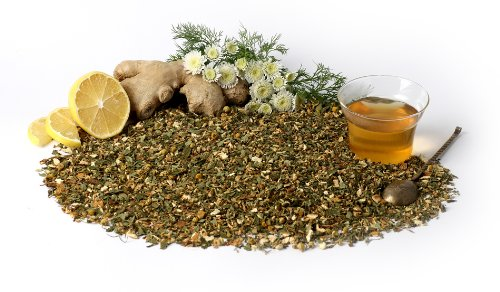 "Ginger Tea ""Inji Immune Ginger Blend"" - Caffeine Free Herbal Blend, 3.5 Oz"