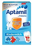 Aptamil Kindermilch 1 plus ab 1 Jahr, 4er Pack (4 x 600 g)