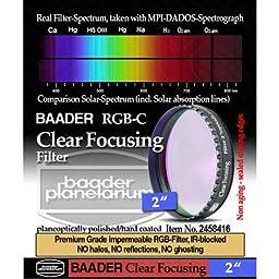 Baader Planetarium Clear Focusing Filter