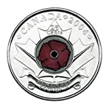 Royal Canadian Mint Poppy Canada Flower of Remembrance in the USA Now a Mysterious Canadian Spy Coin