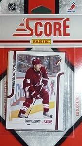 2011 / 2012 Score Phoenix Coyotes Hockey Factory Sealed Team Set Including Ray Whitney, Keith Yandle, Lee Stempniak, Jason Labarbera, Radim Vrbata, Paul Bissonnette, Kyle Turris, Derek Morris, Rostislav Klesl, David Schlemko and More.