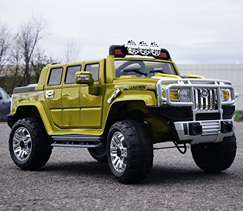 hummer style ride on toy car for kids 12 volts battery operated with remote control 4kids little kid cars