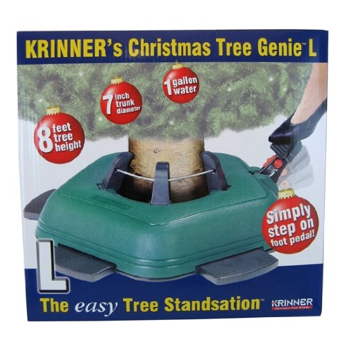 Krinner christmas tree genie l tree stand gosale price for Krinner xxl