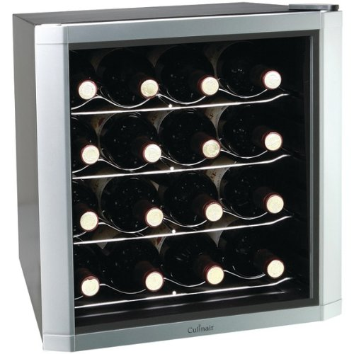 Brand new culinair 16 bottle wine cooler prices for Best wine fridge brands