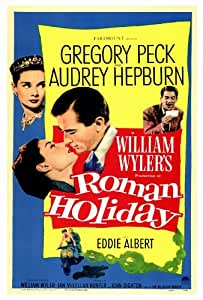 Roman Holiday - Movie Poster - 27 x 40