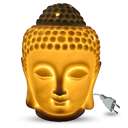 Jaz Deals Electric Ceramic Large Buddha Idol Aroma With One Free Diffuser Oil Citronella / Lemongrass