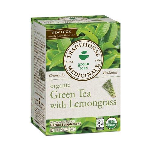 Traditional Medicinals Organic Golden Green Tea - 16 Bags