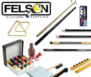 Billiards Accessories Kit - 32 Piece by Felson Billiard Supply by FELSON BILLIARD SUPPLIES