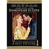Shakespeare in Love: Collector's Series [Import USA Zone 1]par Gwyneth Paltrow