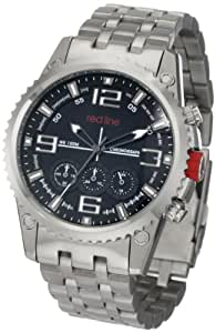 red line Men's RL-50023-11 Chronograph Stainless Steel Watch