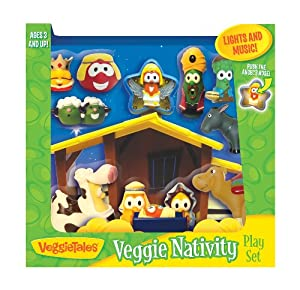 VeggieTales Nativity Play Set