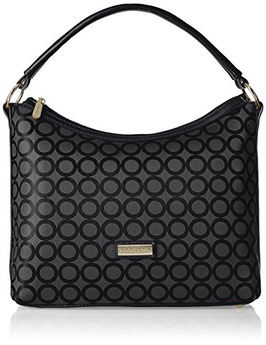 Addons Geometric Jacquard Women's Hobo (Black)