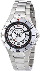 Sector R3253111215 - Reloj para niñas de cuarzo, correa de acero inoxidable color plata