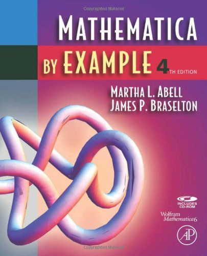 Mathematica by Example by Abell, Martha L.