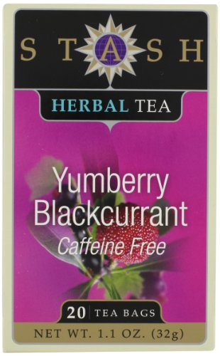 Stash Tea Company Yumberry Blackcurrant Tea, 20 Count Tea Bags In Foil