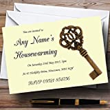 Old Key Housewarming Party Personalized Invitations