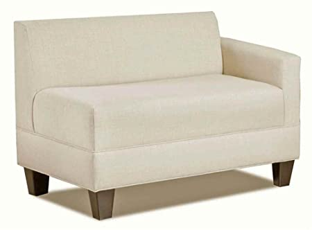 Carolina Accents Makenzie Right Arm Loveseat, Natural