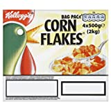 Kellogg's Corn Flakes Bag Pack 4 x 500g