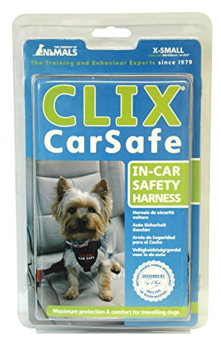 """Clix Car Safe Dog Harness Size: Extra Small (14-25.5"""" G )"""