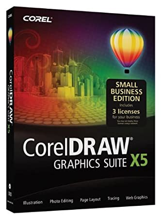 Corel DRAW X5 Graphics Suite Small Business Edition (3 User) X5 (3-Users)