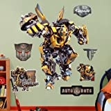 Fathead 1030-00002 Wall Decal, Transformers Bumble Bee