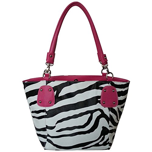 FASH Limited© Zebra Print Faux Leather Tote Handbag. Strong, High Quality