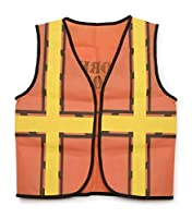 "Darice 16 by 20"" Dress Up Vest, Construction Worker (2 pack, Construction Worker) from Darice"