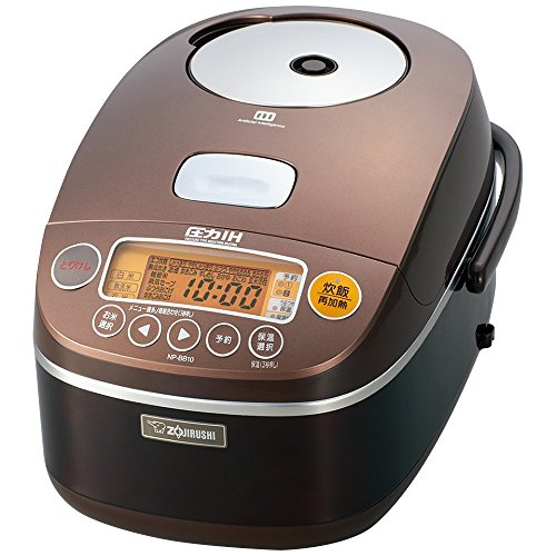 [Cook] 5.5 Integrated ZOJIRUSHI IH pressure rice cooker NP-BB10-...