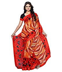 My online Shoppy Chiffon Saree (My online Shoppy_59_Multi-Coloured)