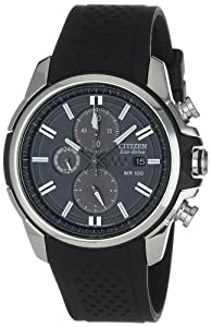 Citizen Men's Drive from Citizen Eco-Drive AR 2.0 Stainless Steel Chronograph Watch by Citizen
