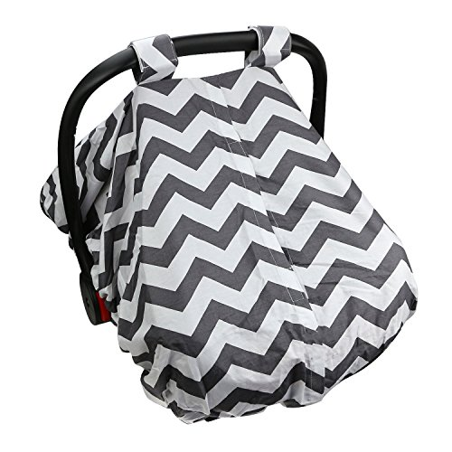 Baby Infant Car Seat Cover - Fits All Baby Car-Seats - Breathable Fabric, 100% Safe And Hygienic - Conveniently Compact Design - Machine Washable! (Disney Princesses Car Seat Covers compare prices)